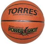 Мяч баскетбольный TORRES Power Shot размер 7