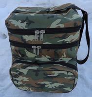 Ящик рыболовный алюминиевый 2 секции в сумке (28л)