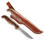 Нож Marttiini SKINNER c ламинированной коричневой рукояткой title=