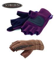 Перчатки рыболовные без пальцев VISION Polartec Windblock V2270