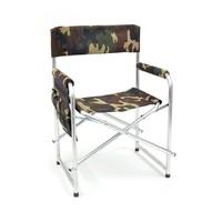 Кресло складное Кедр с карманом на подлокотнике, алюминий AKS-02