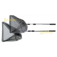 Подсачек Волжанка телескопический 2,4м латекс (замок металл) 60*60