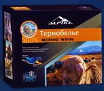 Термобелье мужское Alpika Merino Wool