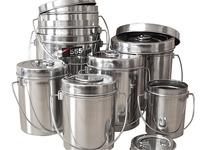 Набор котелков 555 9шт 0,9 - 7 литров