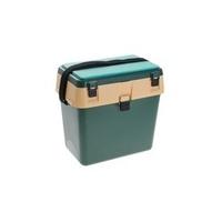 Ящик зимний 001 пластик зеленый/бежевый