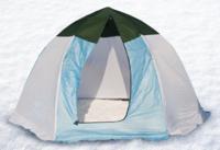 Палатка-Зонт (Д) зимняя Элит 3-местная (дышащая)