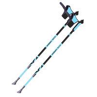 Палки для скандинавской ходьбы телескопические карбоновые ECOS AQD-B018C