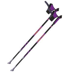 Палки для скандинавской ходьбы телескопические карбоновые ECOS AQD-B019B фото