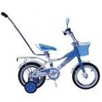 """Детский велосипед Black Aqua 12"""" Sunshine с ручкой"""