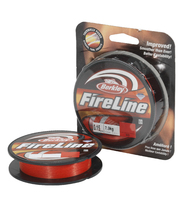 Плетеный шнур Berkley FireLine Red 110м
