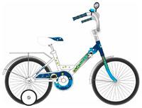 """Детский велосипед Black Aqua 20"""" Космонавт"""