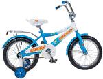Детский велосипед Lucky синий