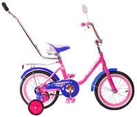 """Детский велосипед Black Aqua 12"""" Princess с ручкой"""
