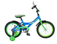 """Детский велосипед Black Aqua 14"""" Wily Rocket"""
