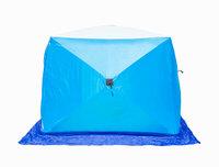 Зимняя палатка Стэк КУБ Long 2 (трехслойная)