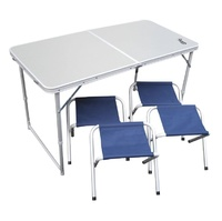 Набор складной туристической мебели Premier (стол + 4 табурета)