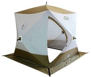 Палатка куб зимняя Следопыт Premium PF-TW-13 (трехслойная) фото