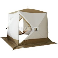 Палатка куб зимняя Следопыт Premium PF-TW-15 (трехслойная, 5 стен)