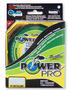 Плетеный шнур Power Pro Hi-Vis Yellow 92м title=
