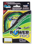 Плетеный шнур Power Pro Hi-Vis Yellow 135м title=