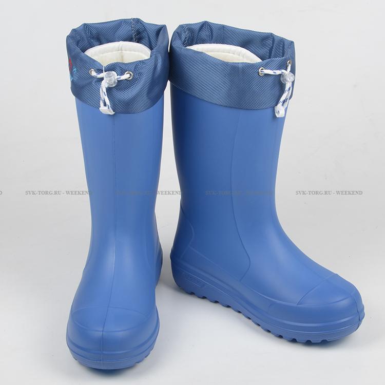 547aa095b Купить Женские зимние сапоги Онега ТЭП синие 4-слойные меховой вкладыш  -40°С за 1 840 руб. в магазине Weekend — цена, характеристики, фото, отзывы