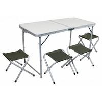 Набор складной мебели (стол 1200х600 см + 4 стула)