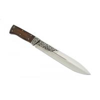 Нож Кизляр Егерский разделочный (дер.-орех, стальн. Притины)