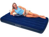 Кровать Intex Classic Downy 99x191x22 см флок, 68757
