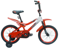 """Детский велосипед Black Aqua 16"""" Motorbike"""